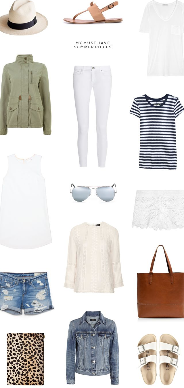 My Must Have Summer Pieces - crystalinmarie.com