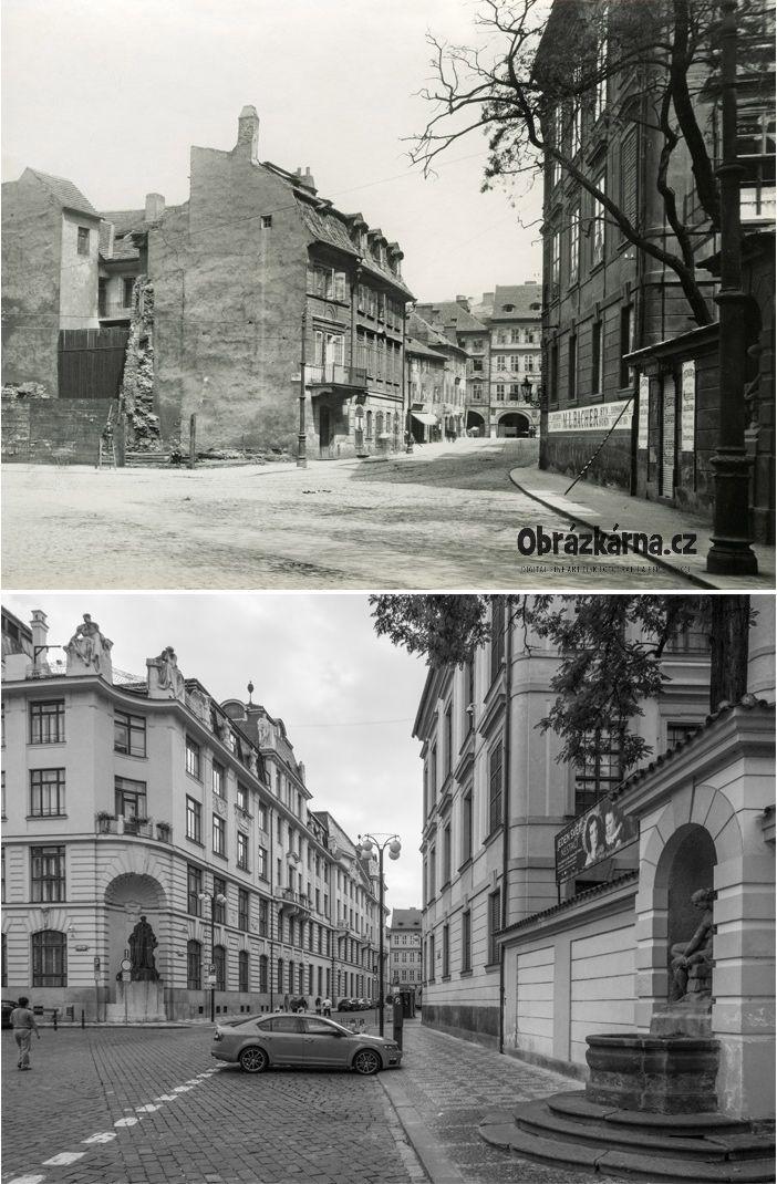 Marianske namesti / Linhartska ulice