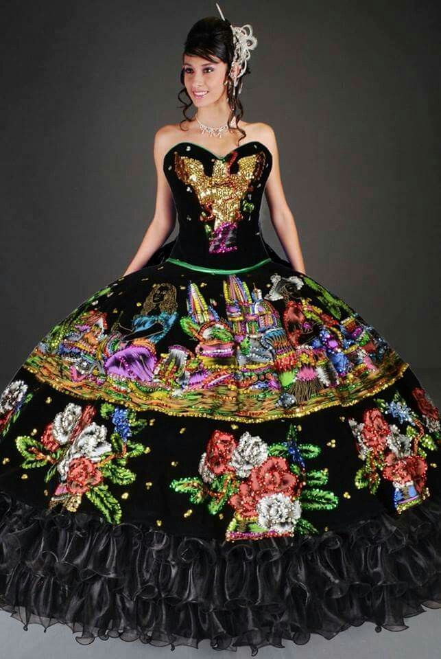29 best Mexican Style Quinceaera Dresses images on