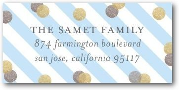 How to Print Address Labels on the Tinyprints Blog