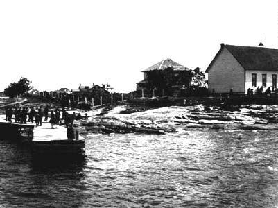 1921 Norway House northern Manitoba Canada a historic Hudson Bay HBC cree fur trading post metis