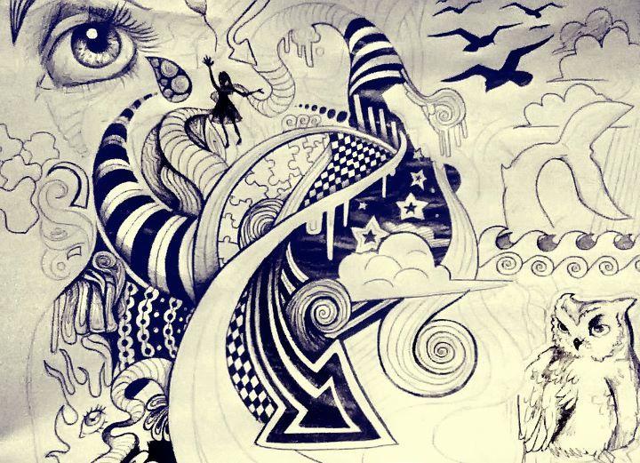 trippy art.