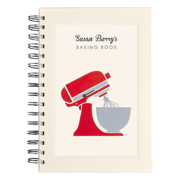 Personalised mixer notebook | hardtofind.