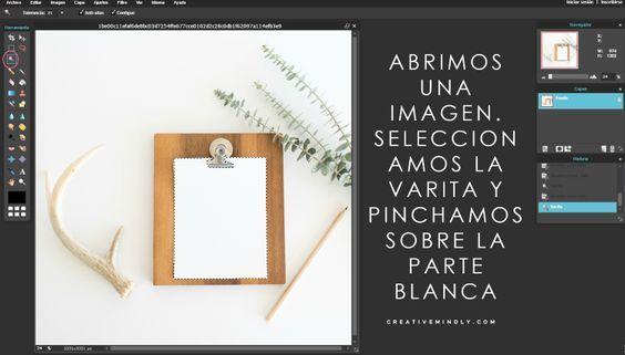 Creative Mindly: Quitar fondo blanco y cambiar colores sin photosop