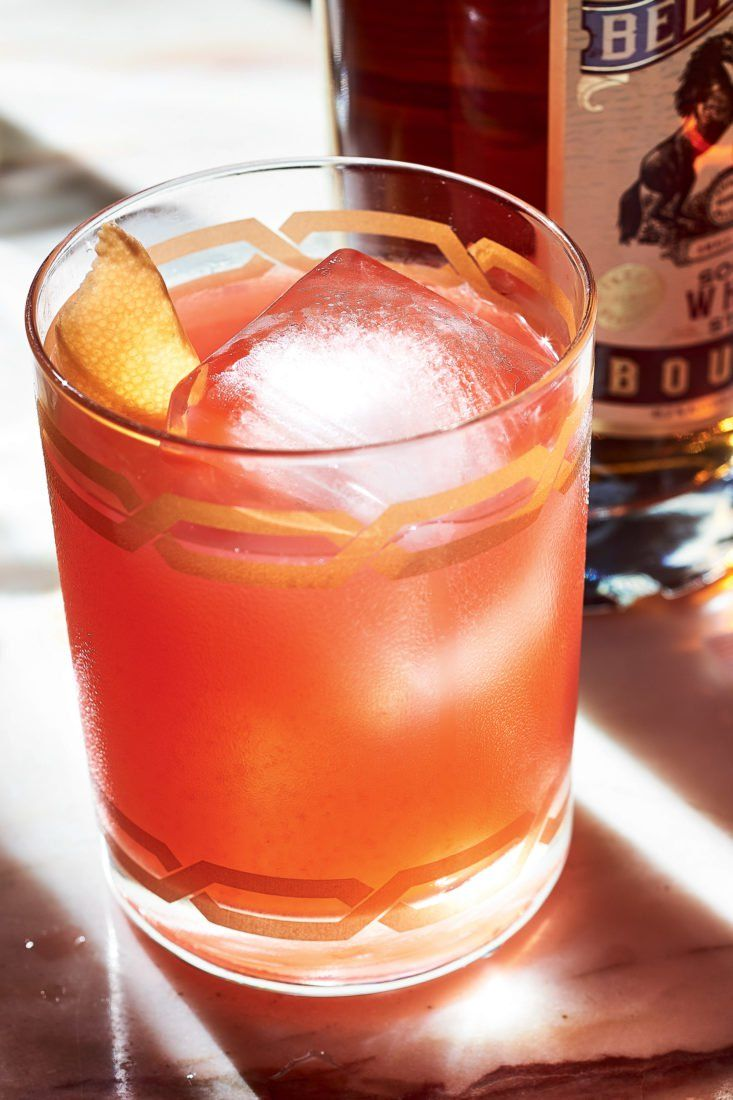 The Third Man Bourbon Campari Grapefruit Juice Lemon Juice