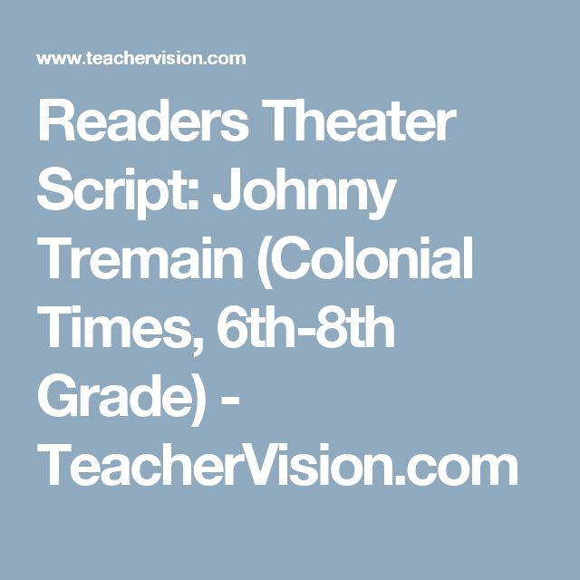 best johnny tremain activities images american  readers theater script johnny tremain colonial times 6th 8th grade