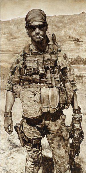 Jodi Daley: Foras admonitio, Private X :: Archibald Prize 2012 :: :: Art Gallery NSW