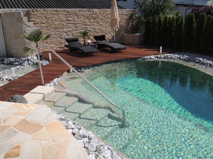 Luxury Schwimmteich Basic Gartengestaltung Zangl