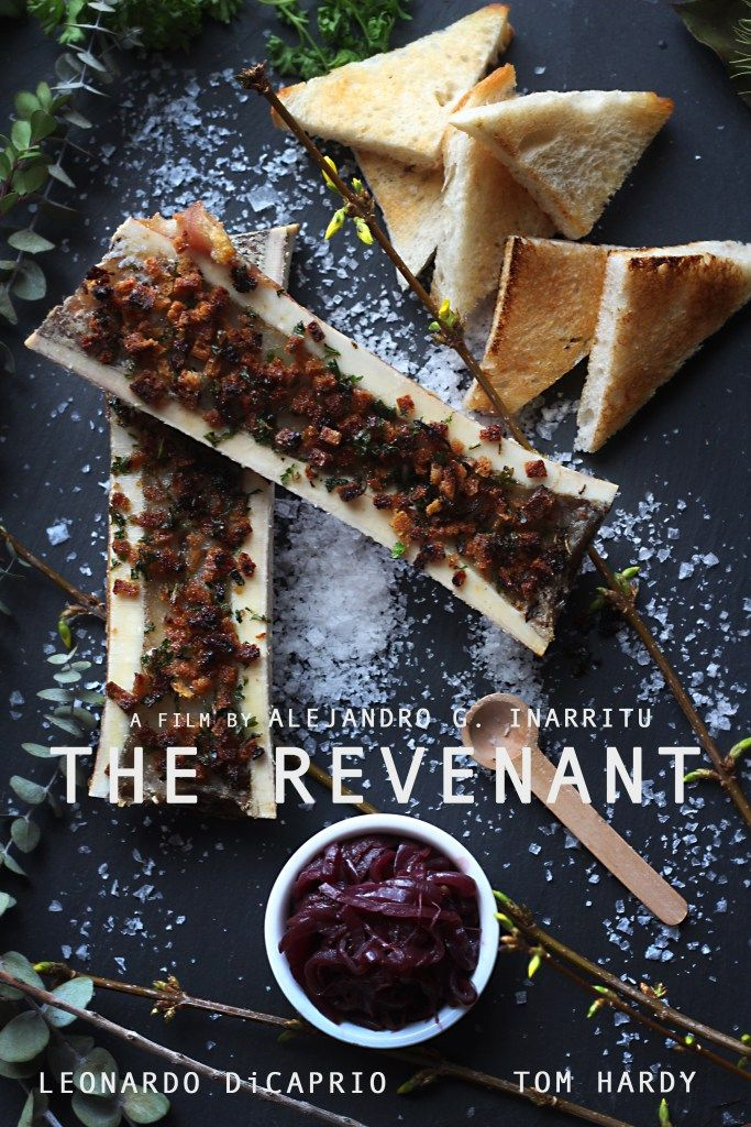The Revenant: Roasted Bone Marrow with Onion Jam Recipe