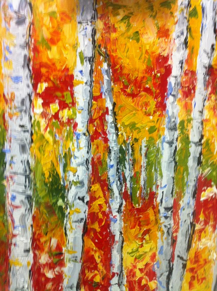 38 best a austin art images on pinterest art tutorials for Palette knife painting acrylic