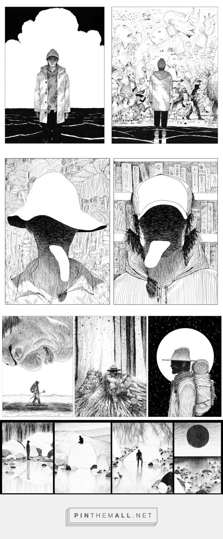 [超 단편만화] SURREAL SHORTCOMICS_workshop on Behance... - a grouped images picture - Pin Them All