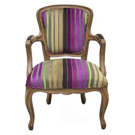 Pentik's Napoleon chair - perfect for my purple home office.