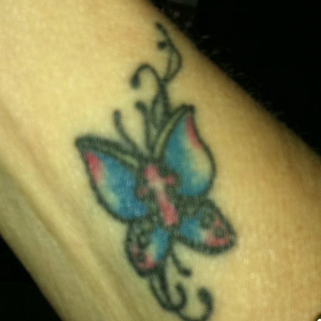 17 best images about tattoos on pinterest ankle tattoos butterfly tattoo designs and cross. Black Bedroom Furniture Sets. Home Design Ideas