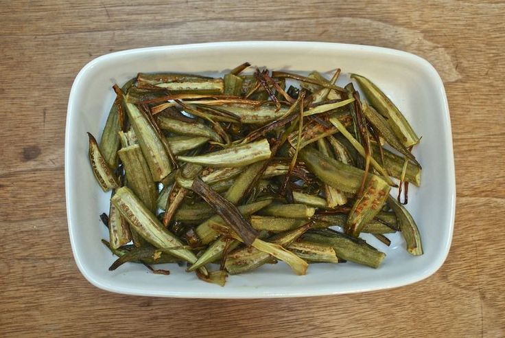 Pop Okra In the Oven for a Surprisingly Tempting Treat