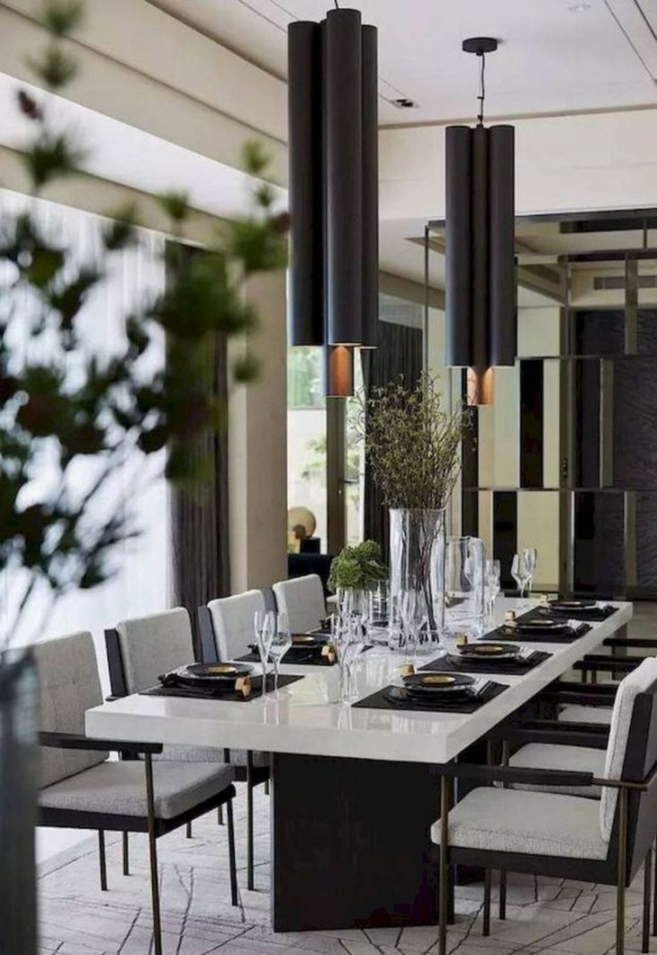 13 Awesome Modern Dining Table Ideas For Cozy Dinner With Your