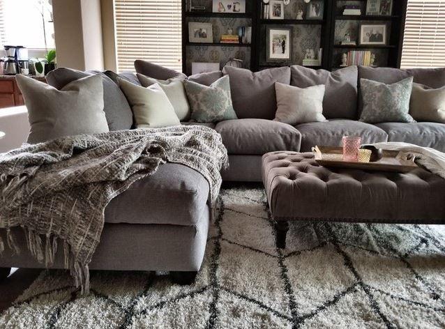 Grey Traditional Living Room Photo Via Amariebosak Living Room Decor Tips Comfy Living Room Gray Sectional Living Room