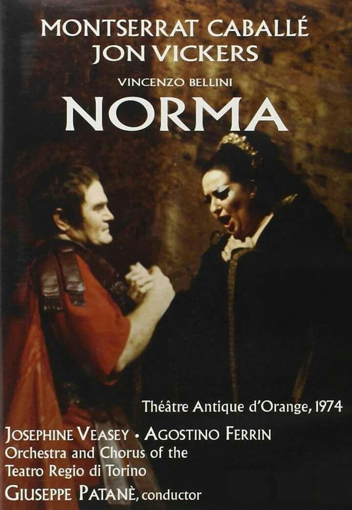 Montserrat Caballé Norma Orange 1974 Kino Musik