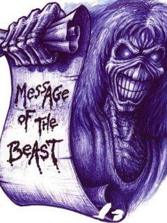 Messsage of the Beast Eddie/ iron maiden