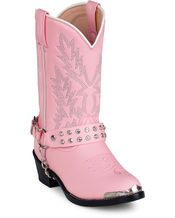 Ladies Pink Cowgirl Boot