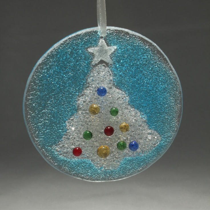 Christmas Tree Ornaments Etsy: 1000+ Images About Fused Glass Projects On Pinterest