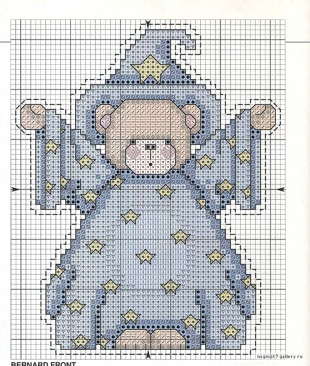 93 Best Counted Cross Stitch Teddy Bear Images On