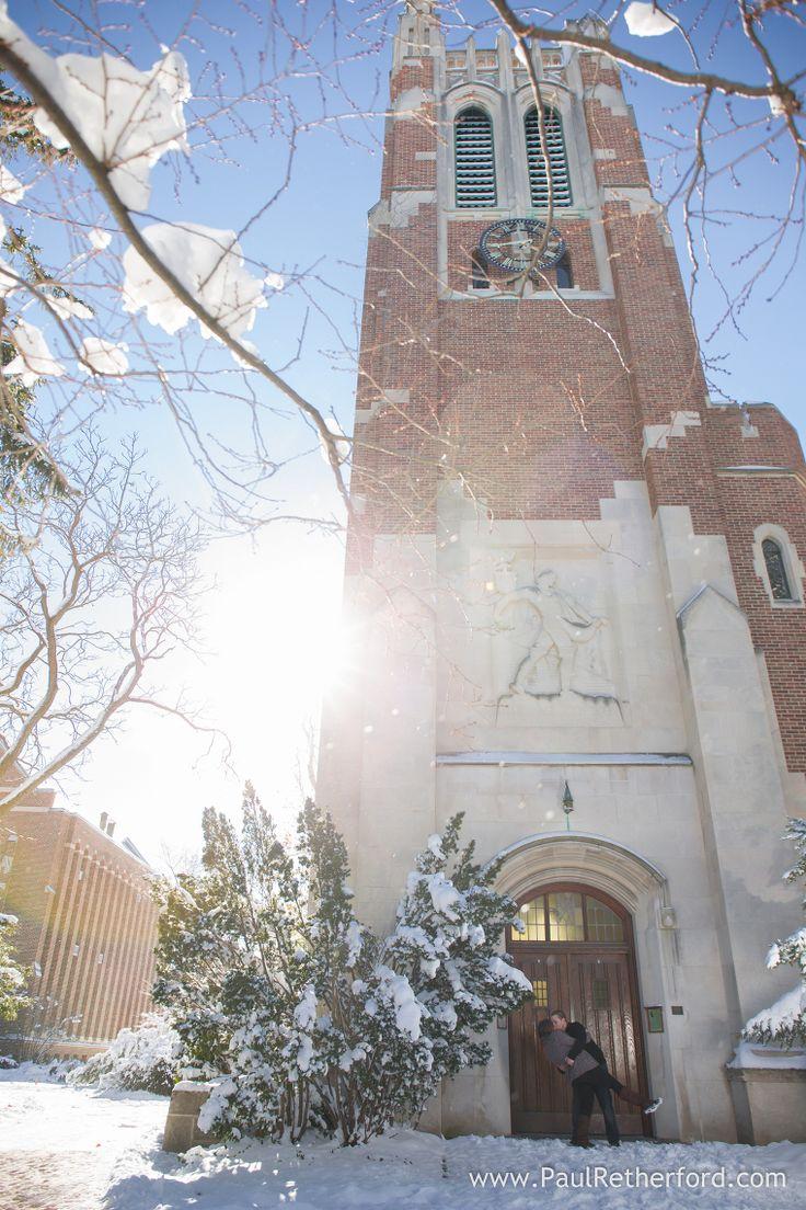 clock tower michigan state university photo