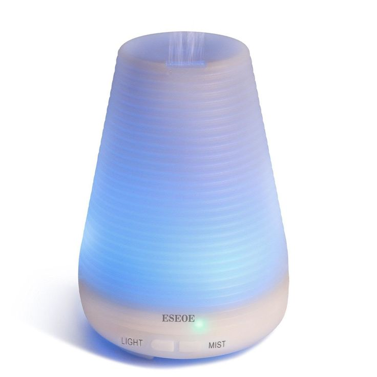 Amazon | ESEOE 超音波式加湿器 アロマディフューザー 七色ムードランプ 空焚き防止 (Cデザイン) | | 加湿器