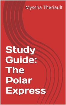 This literature unit and study guide is for the book The Polar Express, by Chris Van Allsburg. It contains a student spelling and vocabulary words list, #unit plan, word search and crossword puzzles, comprehension #questions, #worksheets, #activities and activity sheets, book summary and more. #ThePolarExpress #Christmas #worksheets #printables #classroom #teacher #homeschool