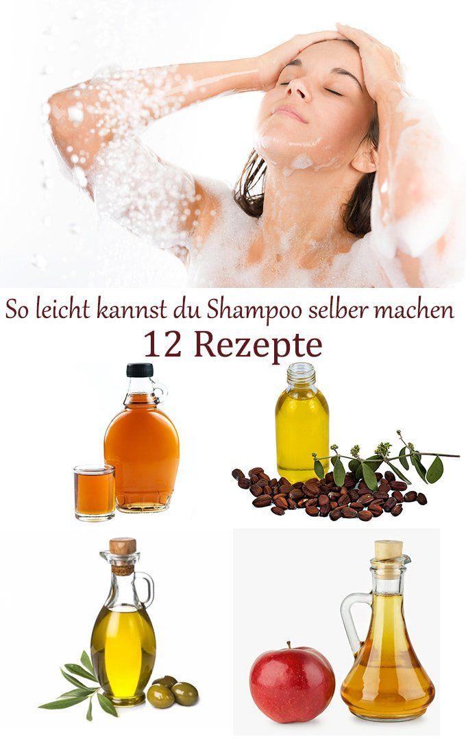 Shampoo selber machen - 12 tolle Rezepte