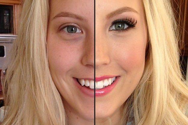 28 photos avant et après qui montrent le pouvoir du maquillage