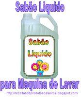 Sabão Liquido para Máquinas de Lavar  Receita de Sabão Liquido para Máquinas de Lavar Roupa  Como Fazer Sabão Liquido     INGREDIENTES:  Águ...