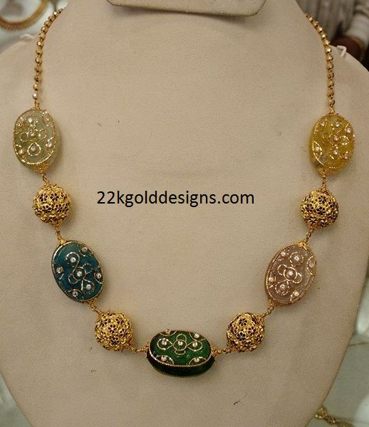 Light weight Color Beads Chain