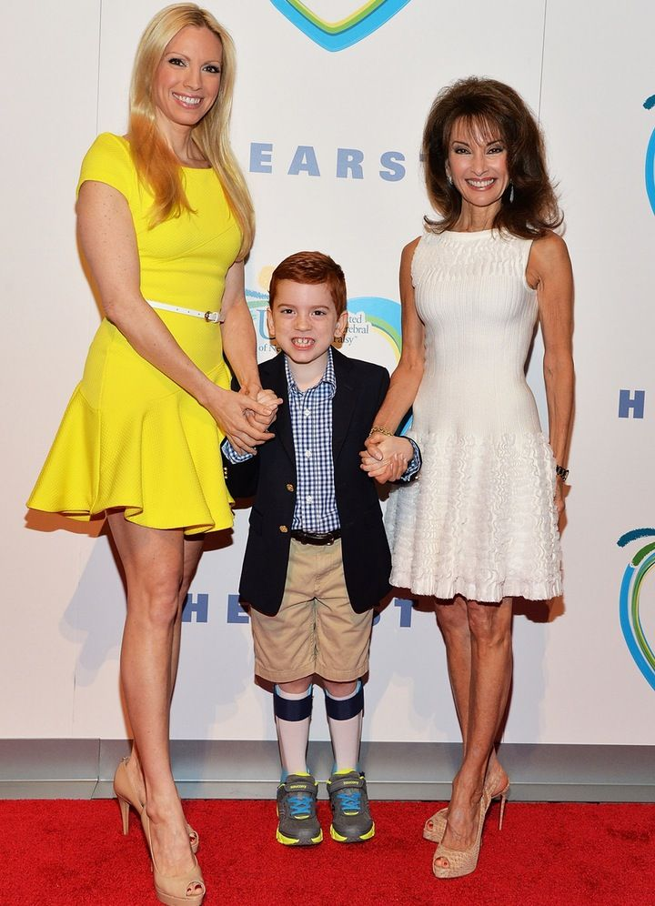 PHOTOS: Susan Lucci's Grandson Walks First Red Carpet After Undergoing Cerebral Palsy Surgery