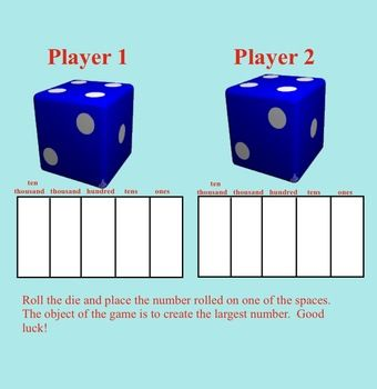 Smartboard:  Four FREE Interactive Math Games (place value