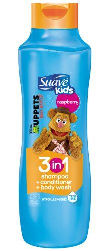 Suave Kids 3 in 1 Shampoo Conditioner and Body Wash, Razzle Dazzle Raspberry, 22.5 Ounce (Packaging May Vary) ** Continue @ http://www.amazon.com/gp/product/B00A8G7TIC/?tag=passion4fashion003e-20&wx=010816185412