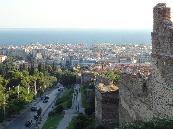 Θεσσαλονίκη, Θερμαϊκός από τα Κάστρα, Επταπύργιο