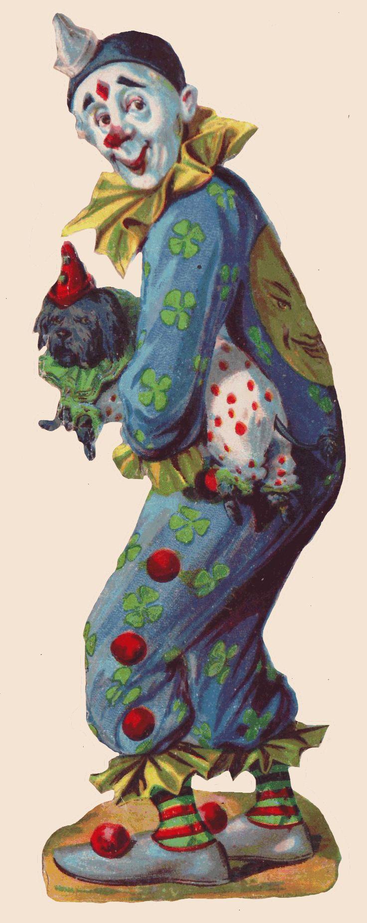 Sentimentalia - Victorian Stickers ~ Glansbilleder > Circus