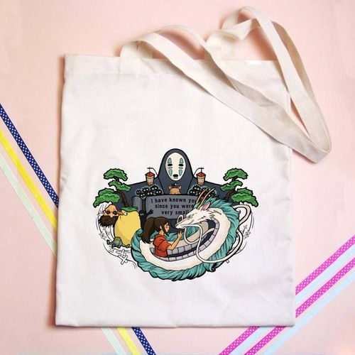 Spirited Away Tote bag - GOGOLFNW.COM