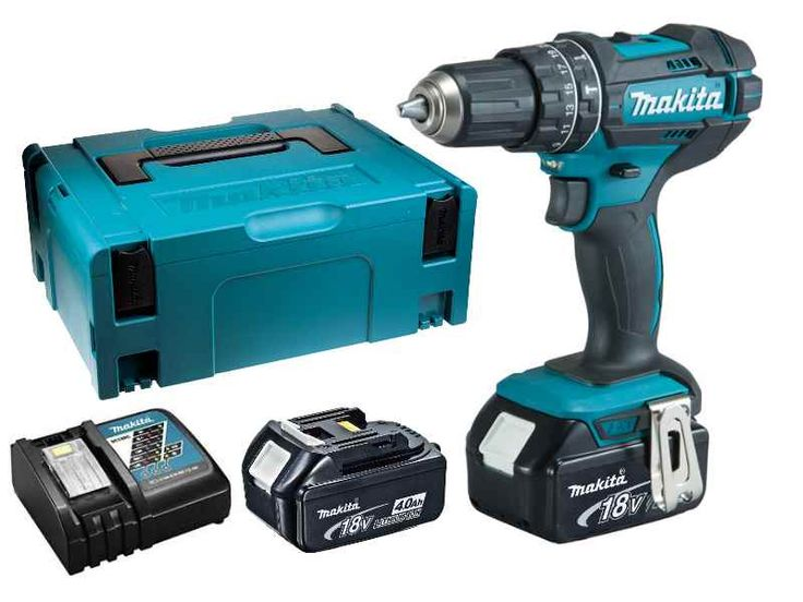 makita dhp482rmj 18v 2x4 0ah li ion lxt combi drill makpac kit makita tools pinterest. Black Bedroom Furniture Sets. Home Design Ideas