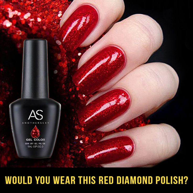 1000 Ideas About Red Gel Nails On Pinterest Red Nails