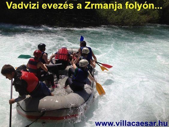 Rafting a Zrmanja folyón Horvátországban, Vir sziget programok, #Vir #sziget #szállás