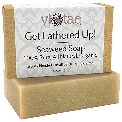 ViTae Organic Seaweed Soap 4 oz -- Check this awesome product by going to the link at the image.