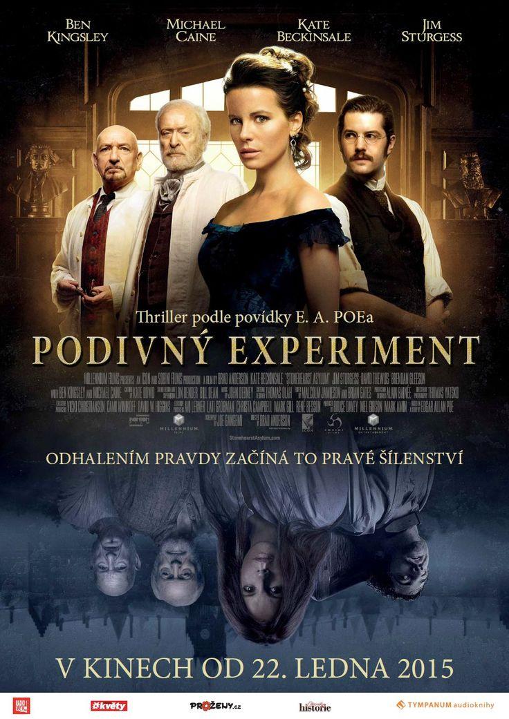 DVD | E. A. POE: PODIVNÝ EXPERIMENT Chmurný dobový thriller z prostředí psychiatrického ústavu konce 19. století.