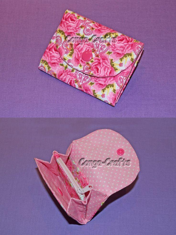 Kleiner Geldbeutel – mini purse. Wie man den nähen kann, zeig ich euch hier: yo