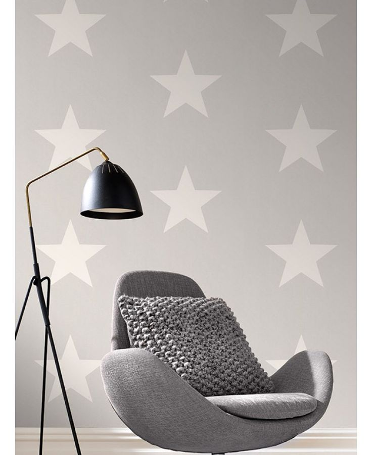 High quality star themed wallpaper Ideal for feature walls and entire rooms 10.05m (32.9 ft) long x 53cm (1.73ft) wide