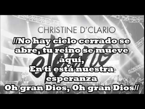 Que se abra el cielo Christine D'Clario Feat  Marcos Brunet | Letra (Ete...