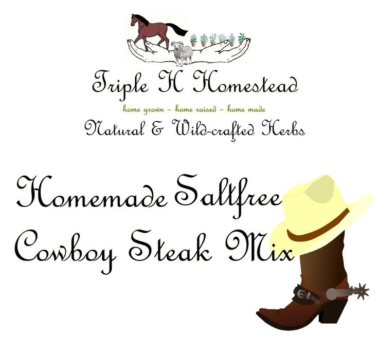 The special 'kick' in this mix is the combination of coffee grounds and chili. Both, we fathom a staple of cowboys, right? It is delicious and adds some smokiness to the steak. You will want it all the time, once you've tried it!