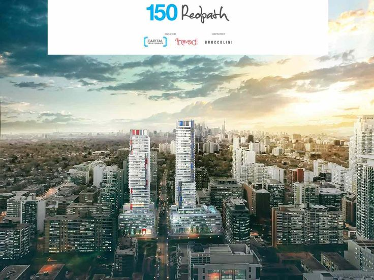 http://150-redpathcondo.ca/ 150 Redpath Condos is a new condo development by Freed Developments and CD Capital Developments currently in preconstruction at 150 Redpath Avenue in Toronto. The development has a total of 520 units. Register here today. #150Redpath