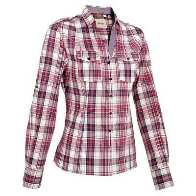 Abbigliamento equitazione Abbigliamento - Camicia equitazione donna SENTIER a quadri rosa-bianco-azzurro OKKSO SARL - Parte alta