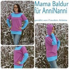 """Freebook Damenshirt """"Mama Baldur"""""""